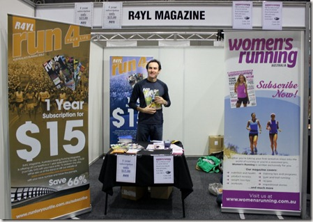 Heath from R4YL & Womens Running Mags