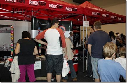Rocktape stand