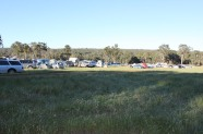 Part of the camping grounds