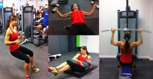 strength and conditioning training collage
