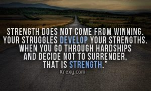 strength in struggle